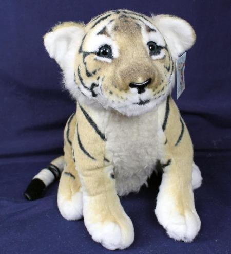 Plüsch Tigerbaby 45cm braun sitzend