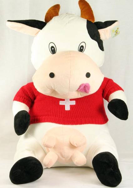 Plüsch Kuh mit CH - Shirt