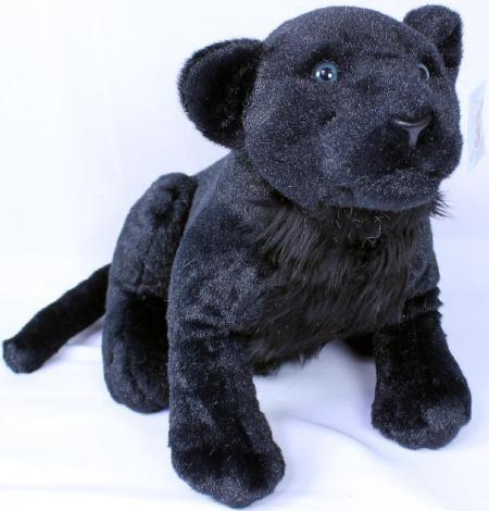 Plüsch Pantherbaby sitzend