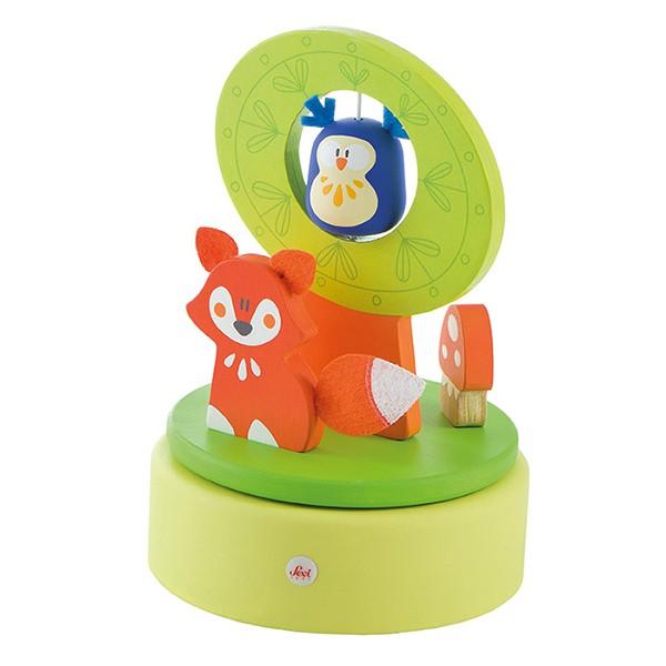 Spieluhr Fox and Friends