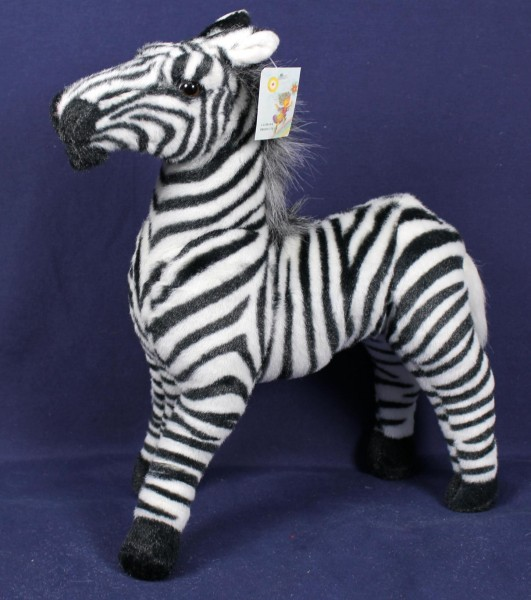 Plüsch Zebra 40x45cm