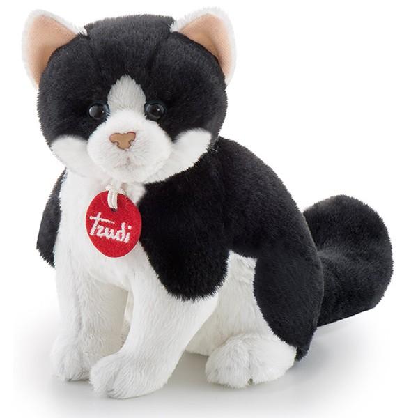 Trudi Trudi Katze schwarzweiss 20cm