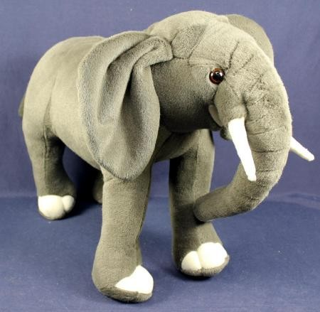 Plüsch Elefant grau 70cm