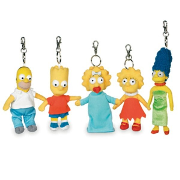 The Simpsons Schlüsselanhänger ass.