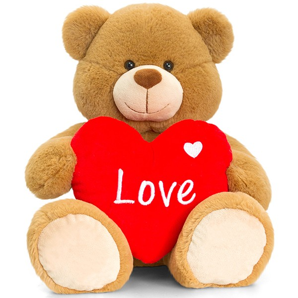 Brown Bertie Bär mit Herz 30cm